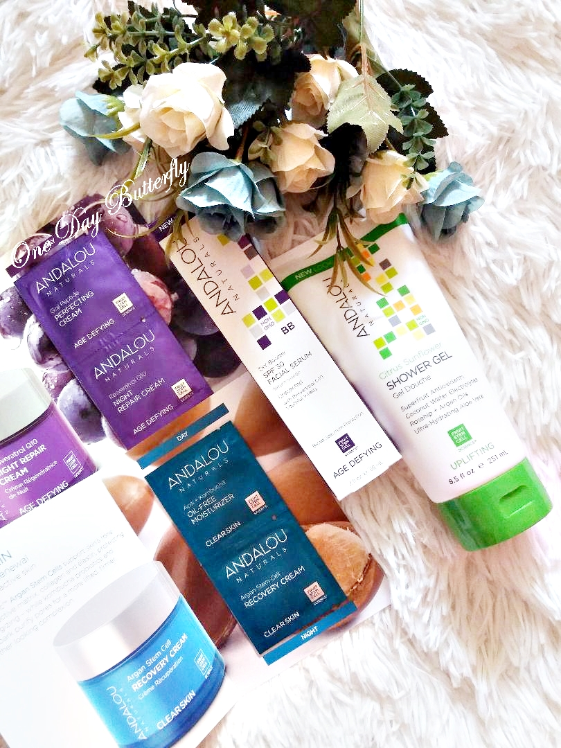 Îngrijire corporală cu produse Andalou Naturals