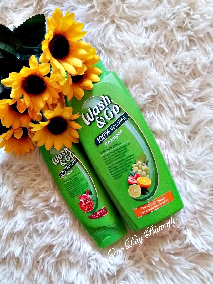 Îngrijirea părului cu produse Wash&Go