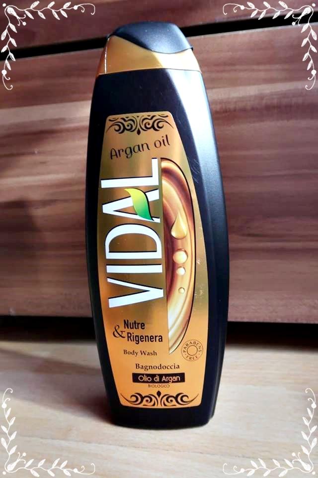 Vidal – gel de duș cu ulei de argan