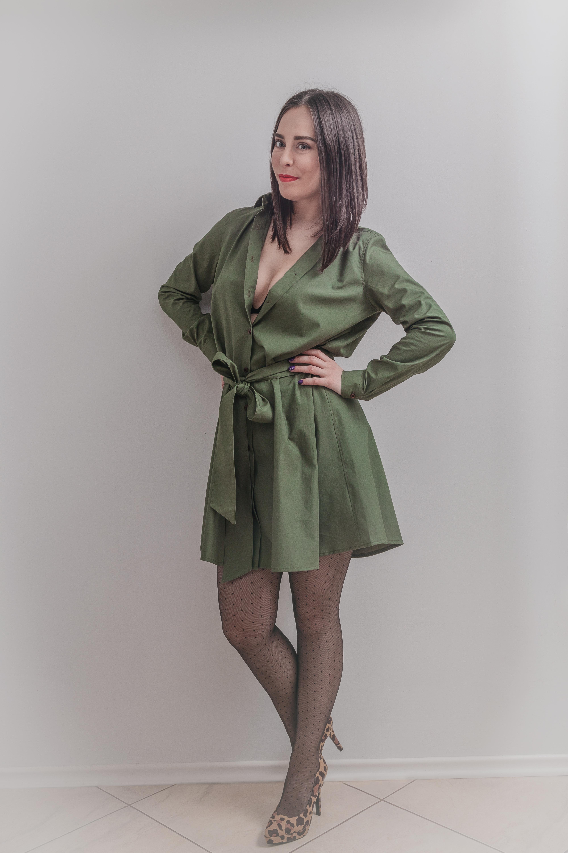 Cămașă tip rochie marca Dragoș Prioteasa