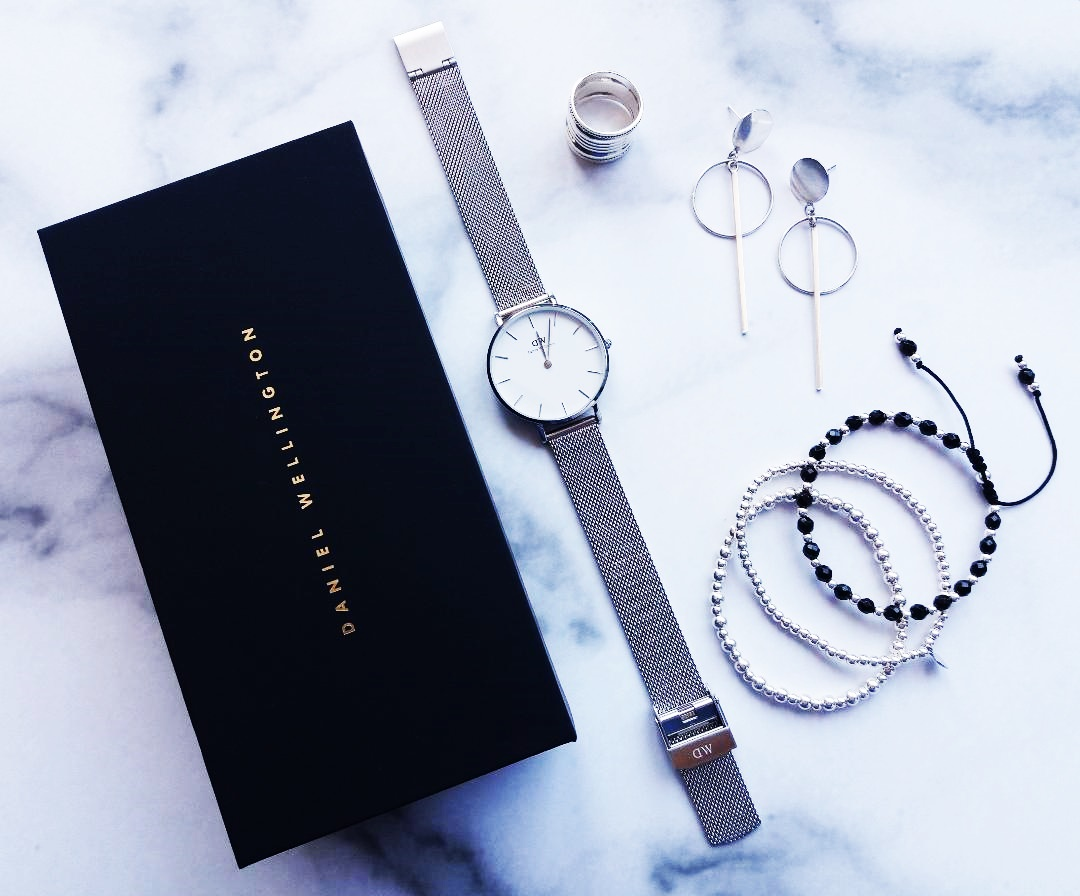 Daniel Wellington – ceas de damă Classic Petite Sterling