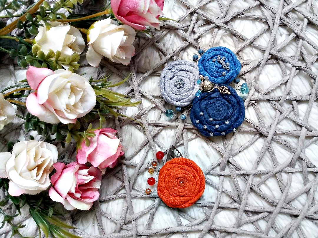Broșe handmade BIA.design