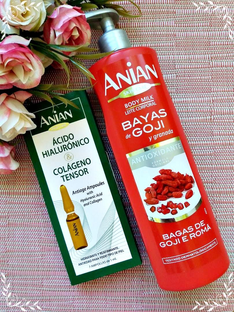 Skincare cu produse Anian