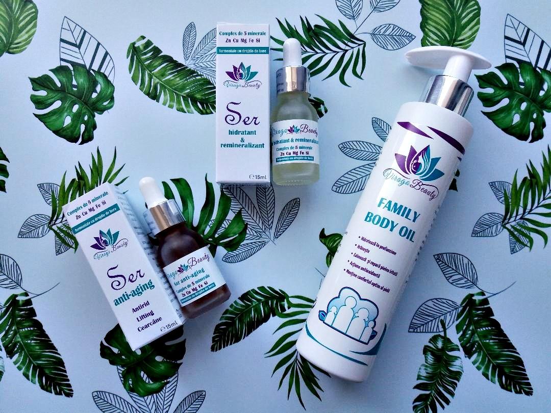 Îngrijirea pielii cu produse Virago Beauty
