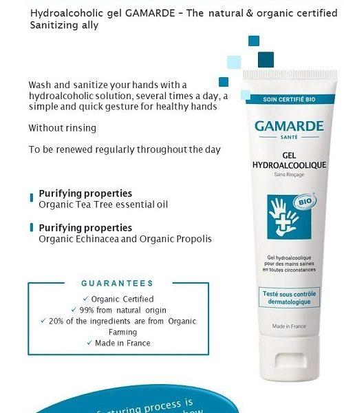 Gamarde Biocide – gel dezinfectant