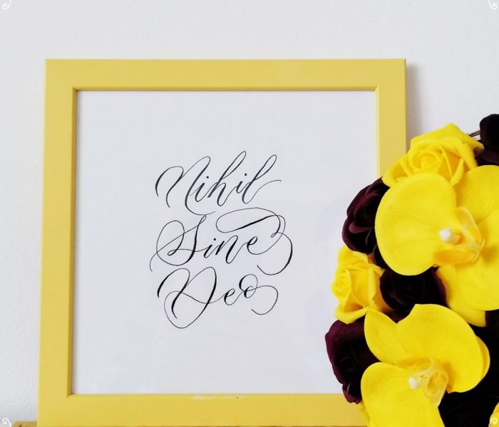 Literalmente Studio – servicii de caligrafie