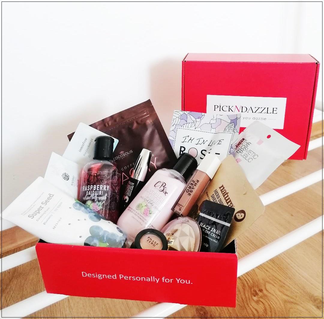 Pick N Dazzle – cutia cu frumusețe