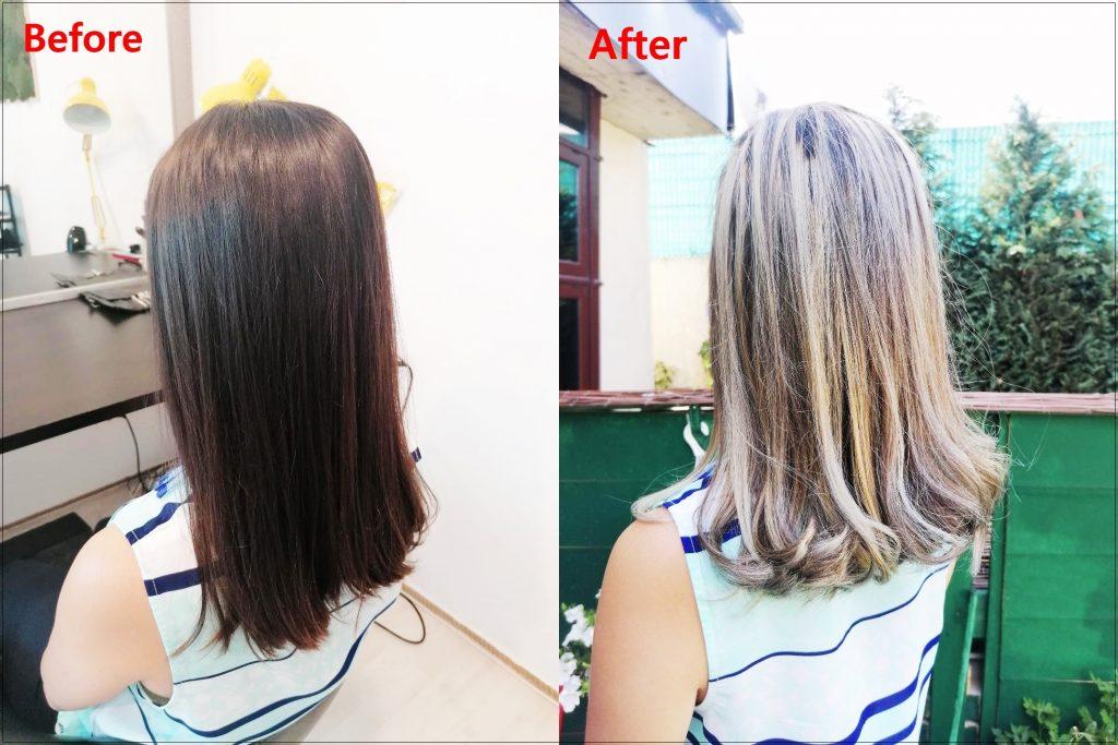 Balayage marca Gina Dan Hairdresser