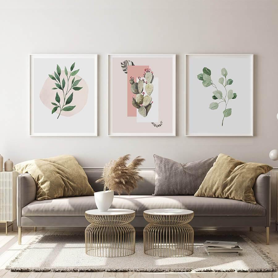 Kaplias – postere pentru decorarea casei în stil minimalist