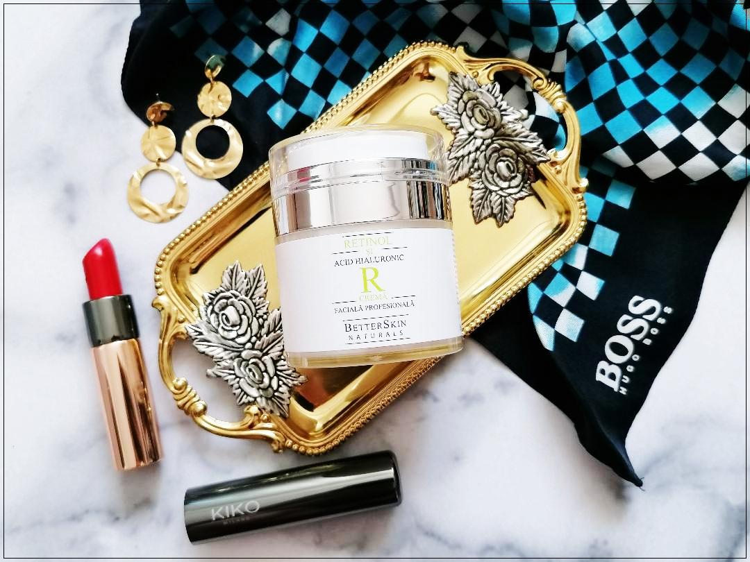 Crema facială anti-îmbătrânire Betterskin Naturals