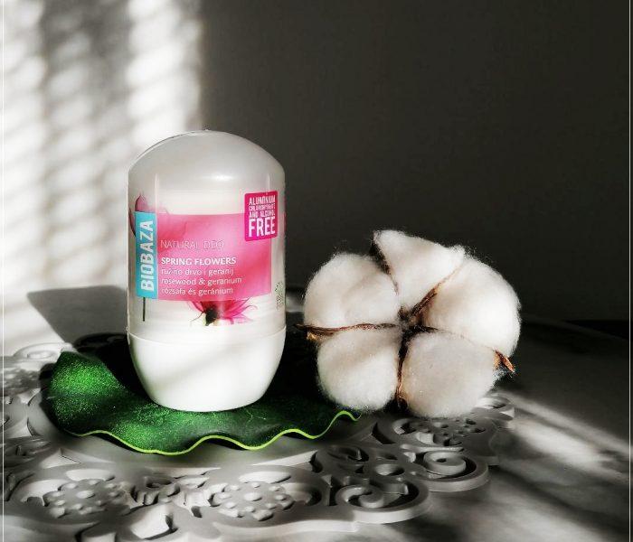 BIOBAZA – Deodorant natural pentru femei