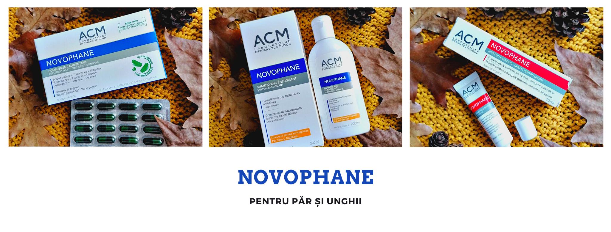Novophane pentru păr și unghii
