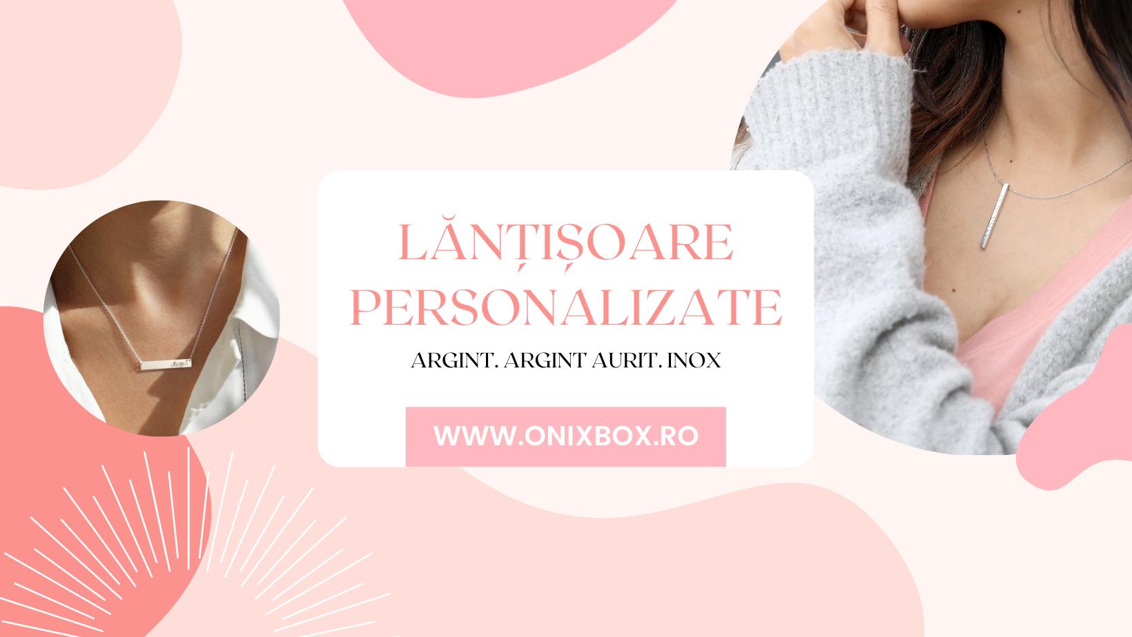 Lănțișoare personalizate Onixbox.ro