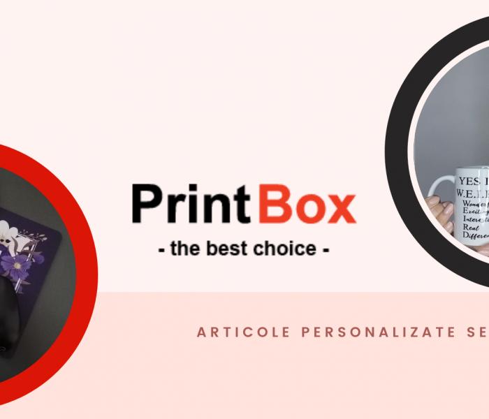 Atelier de personalizare self-made PrintBox