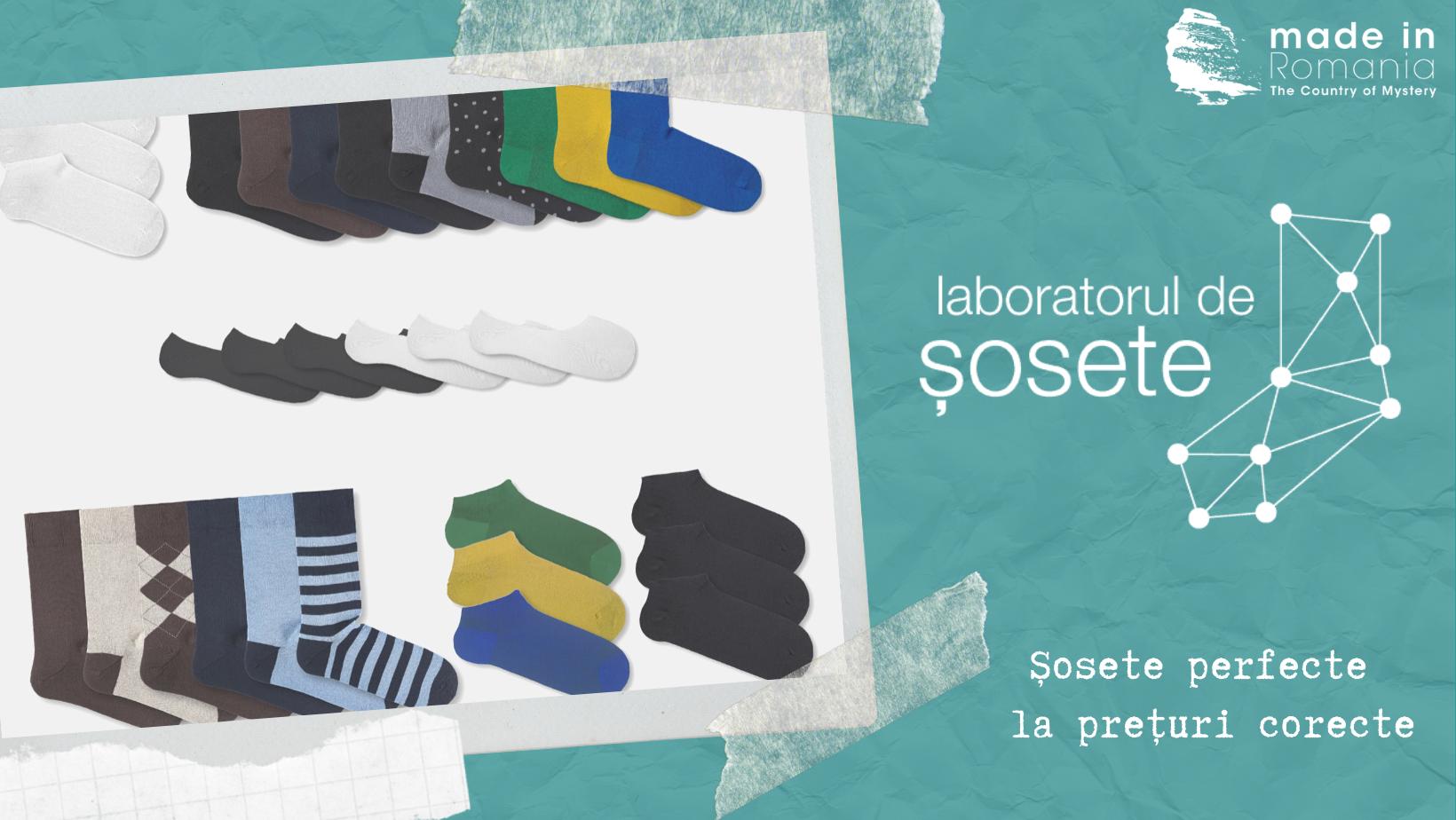 Laboratorul de șosete – o revelație în industria șosetelor