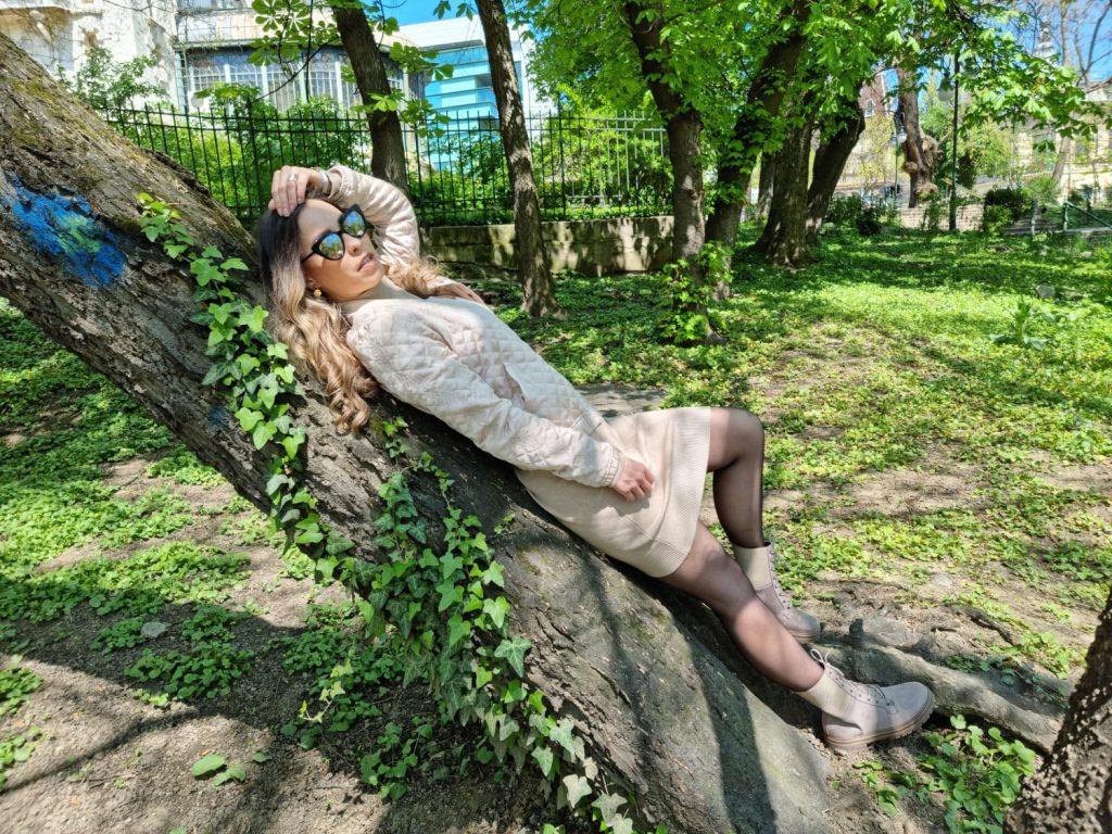 bocanci din piele ecologica MOXO.ro