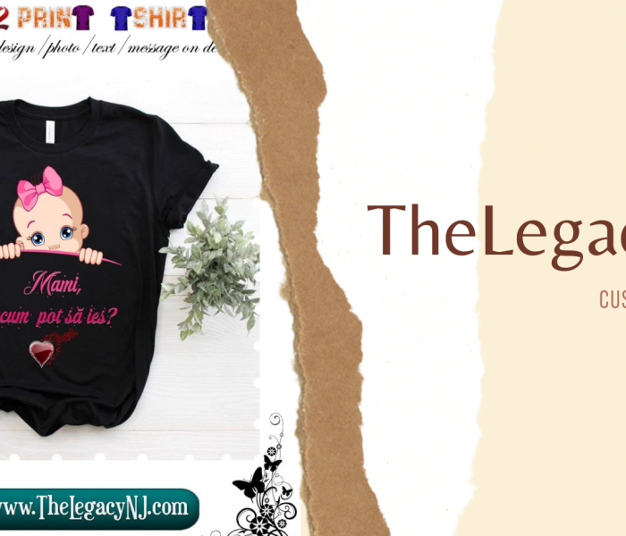 The Legacy NJ – print on demand t-shirt factory